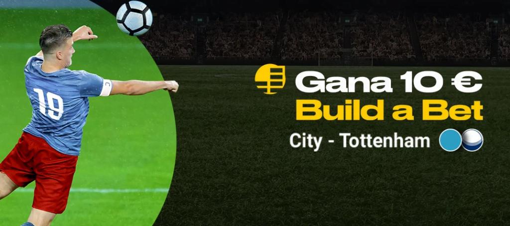 build a bet bwin city tottenham
