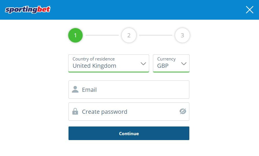 How to register with Sportingbet
