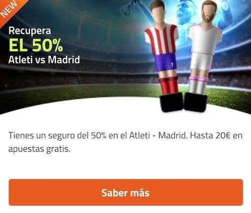 Atleti - Real Madrid en Luckia