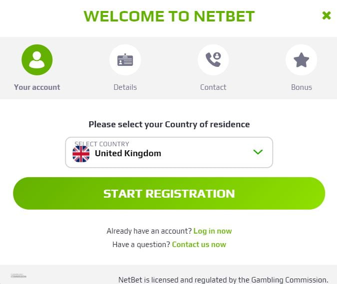 How to join NetBet