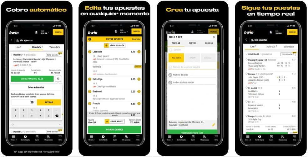 descargar bwin app
