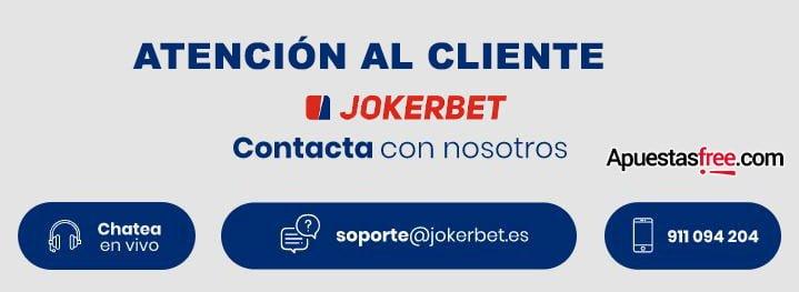 atención al cliente jokerbet
