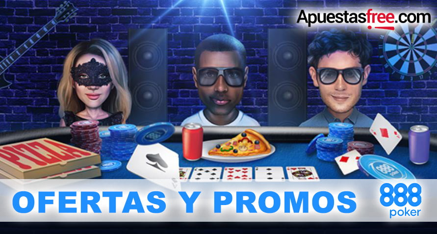 ofertas y promociones 888poker