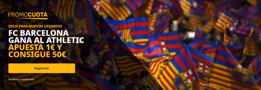 promocuota betfair barcelona athletic de bilbao