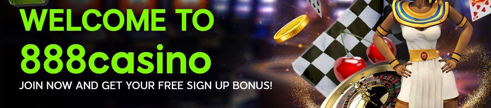 888casino Welcome Bonus