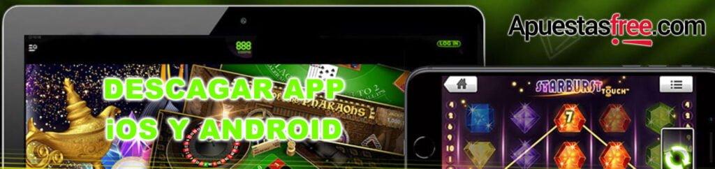 descargar app 888casino apk