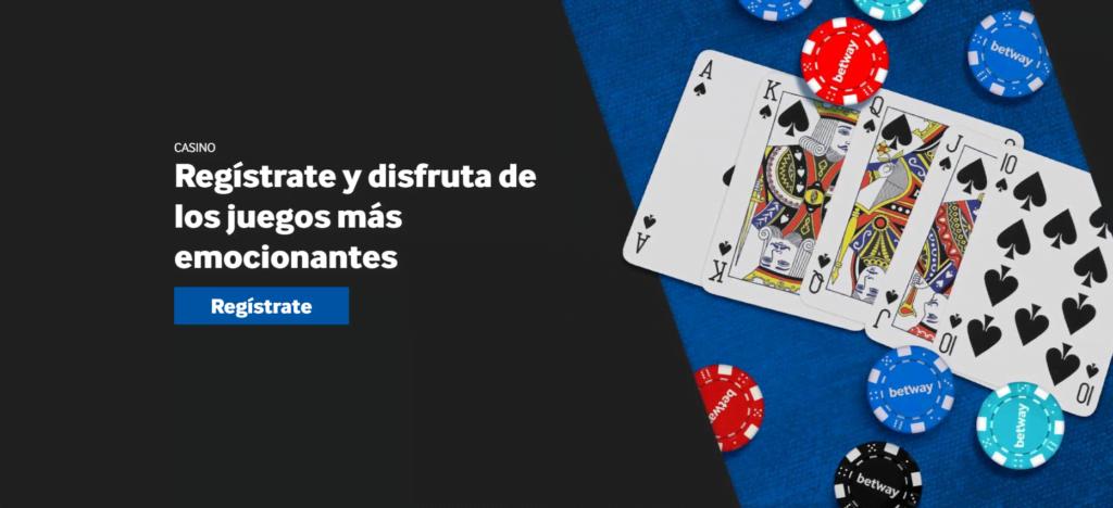 juegos casino betway