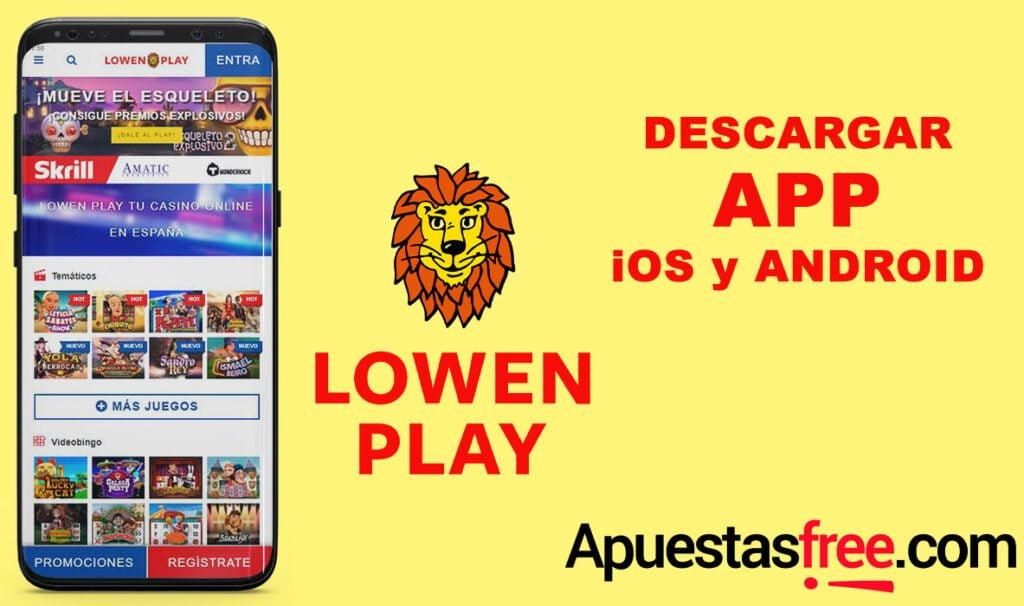 descargar app lowen-play