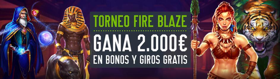 Torneo Fire Blaze