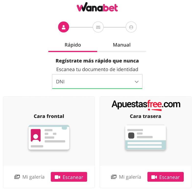 promociones Wanabet