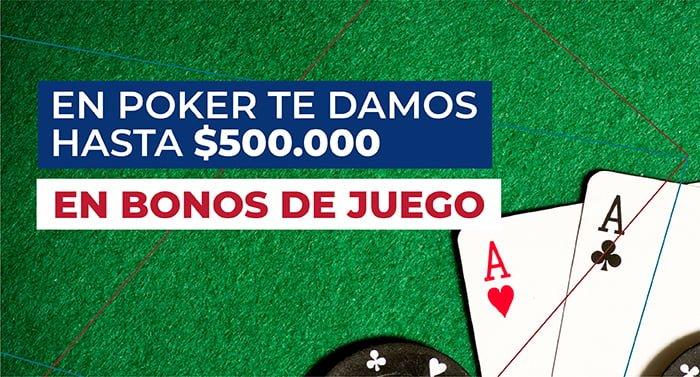 aquijuego bono poker