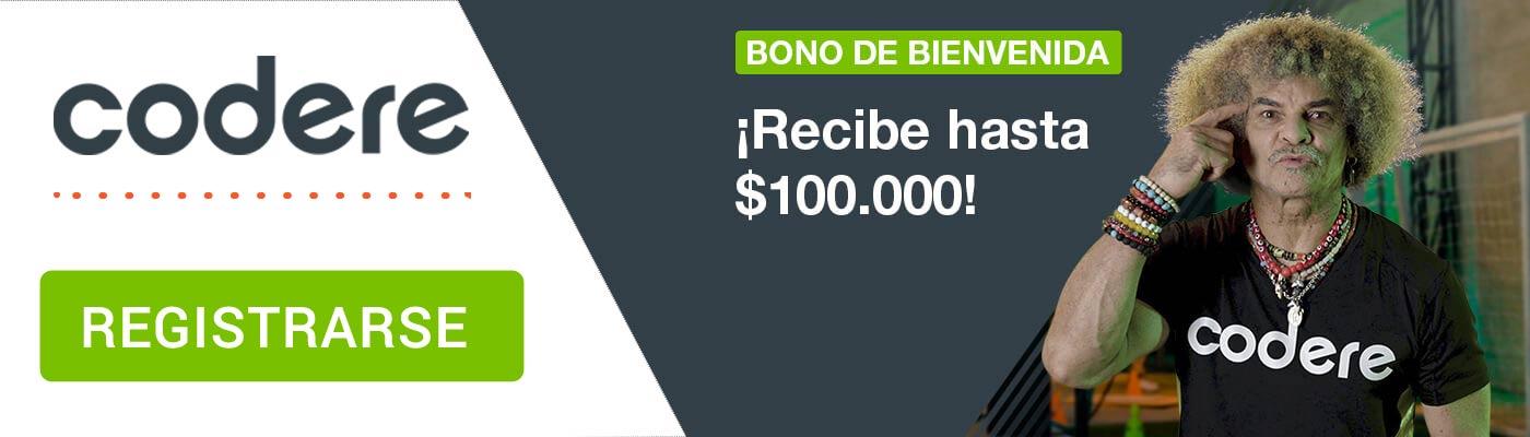 promocion codere hasta $100000