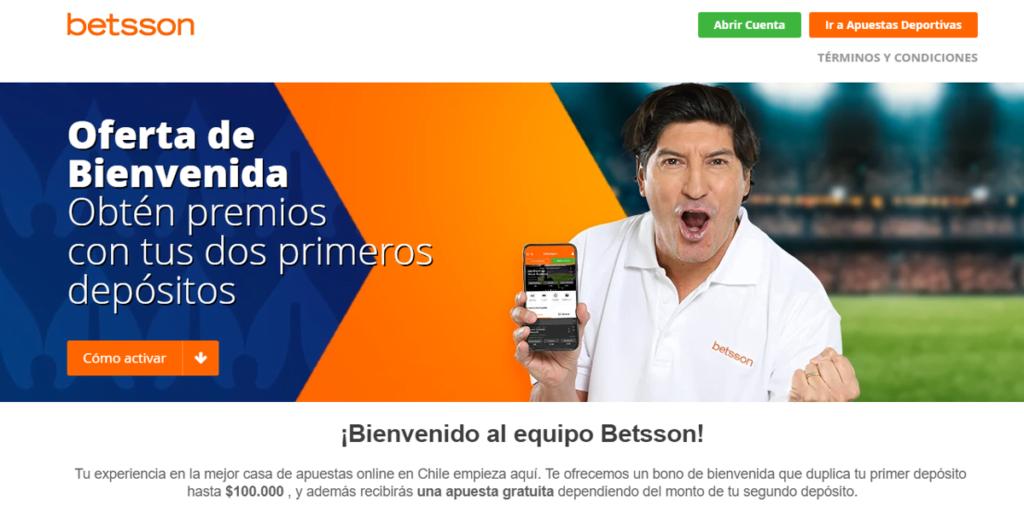 betsson promoción chile uruguay