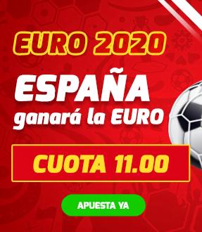 cuota betfred españa gana la eurocopa