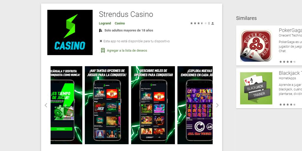 strendus como descargar app
