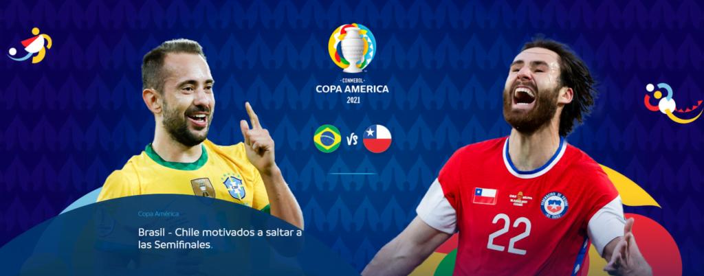chile vs brasil copa america mejores cuotas