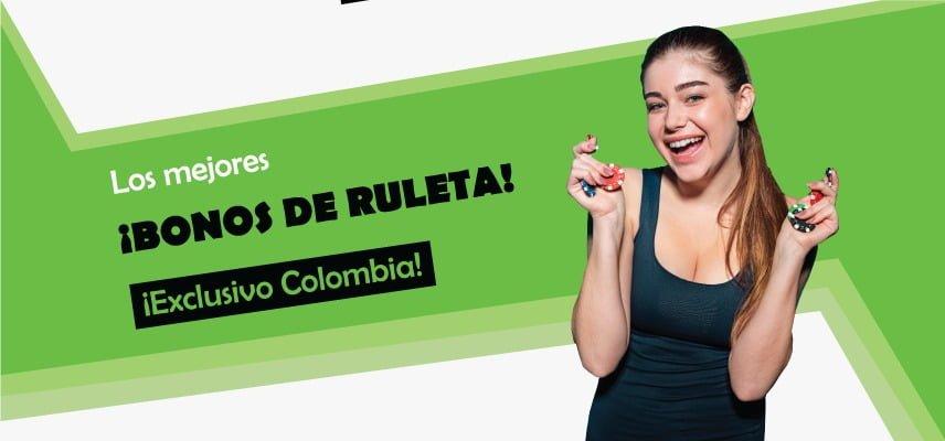 los mejores bonos para ruleta en colombia