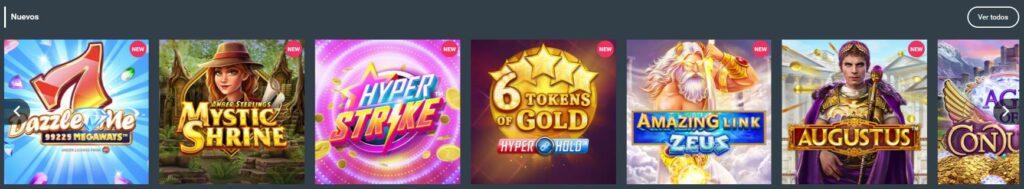 nuevas slots codere