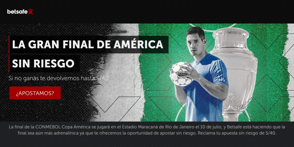 argentina brasil betsafe bono promocion
