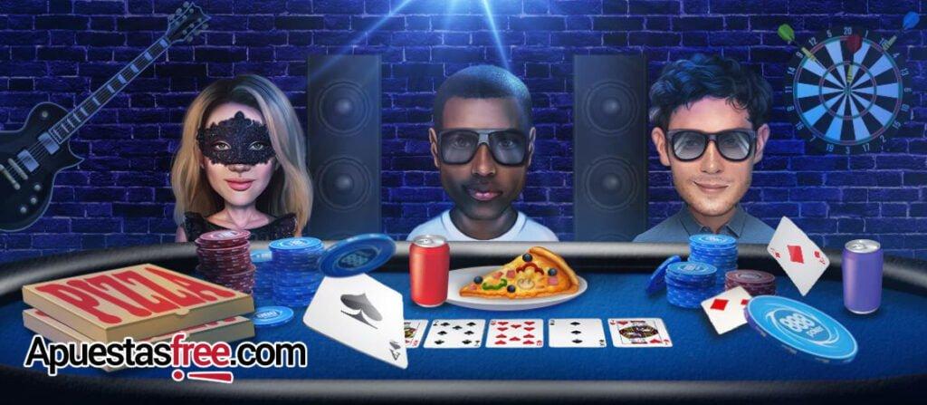 casas de apuestas para jugar al poker