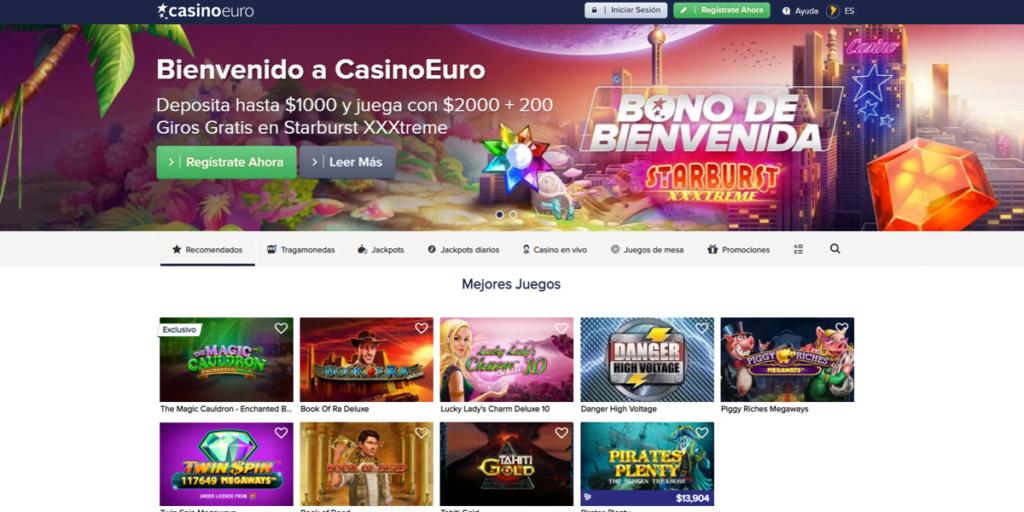 casinoeuro bono casino codigo promocional