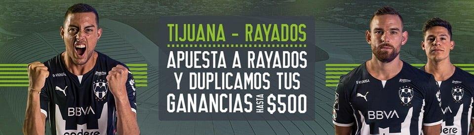 promocion rayados tijuana