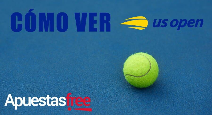 cómo ver el us open online de tenis gratis