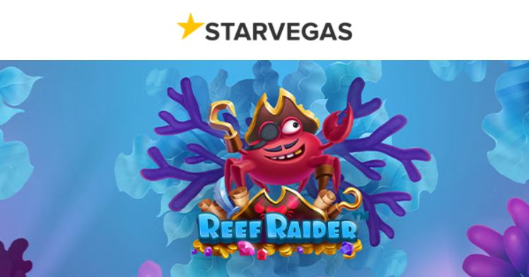 jugar a reef raider en starvegas