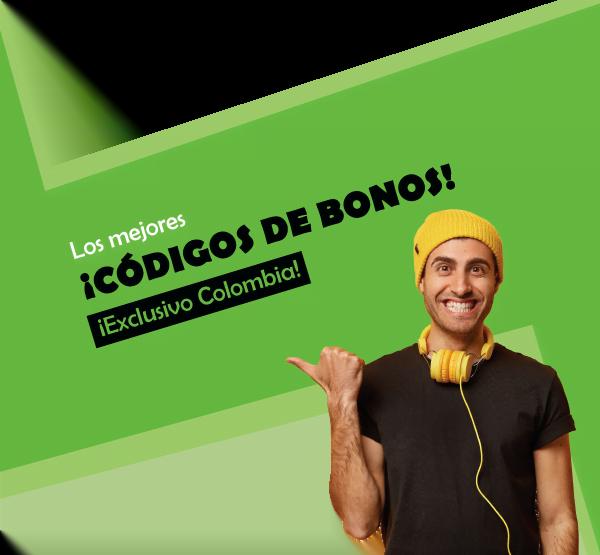 los mejores codigos de bonos de colombia para movil