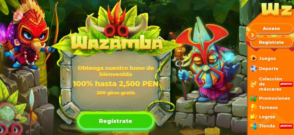 wazamba bono casino