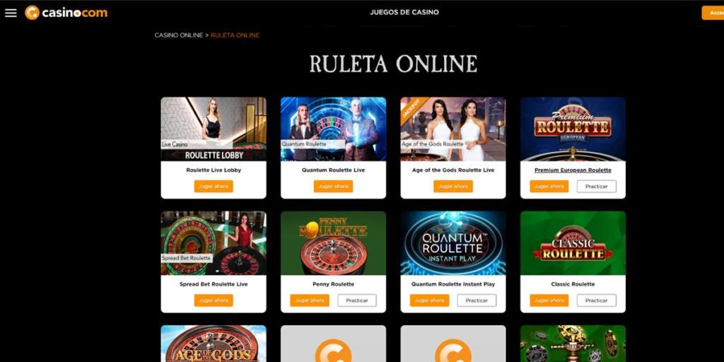 casino com ruletas
