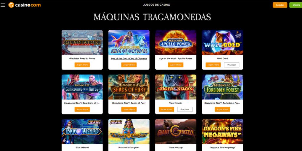 casino.com bono slots