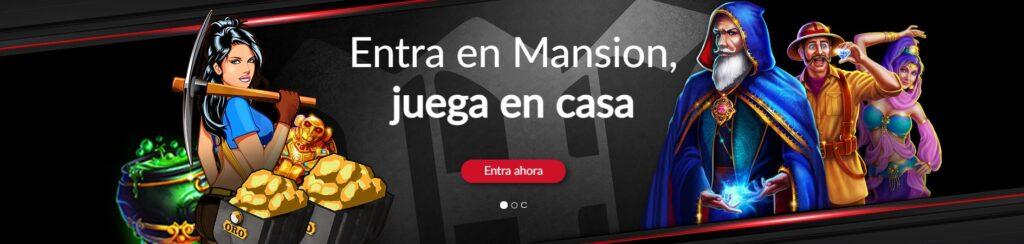 jugar mansion casino