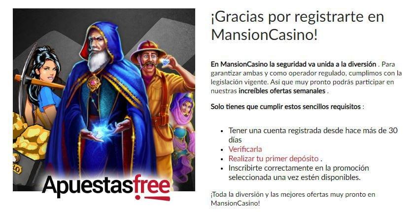 verificar identidad mansion casino