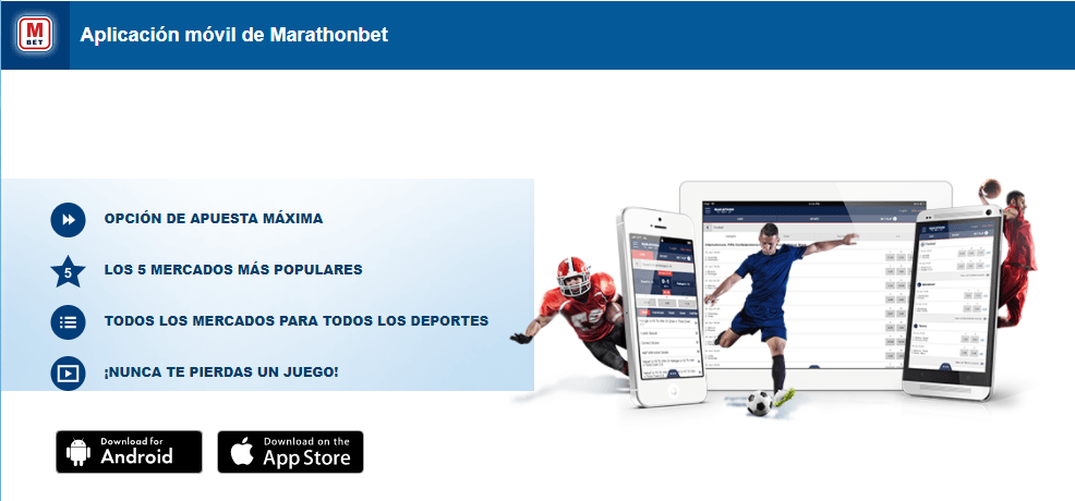 marathonbet app descargar
