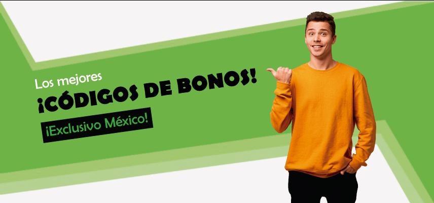 los mejores codigos de bonos en mexico