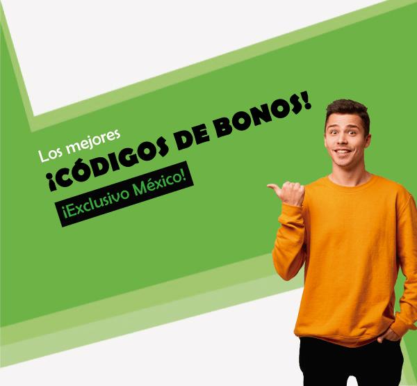 los mejores codigos de bonos en mexico para movil