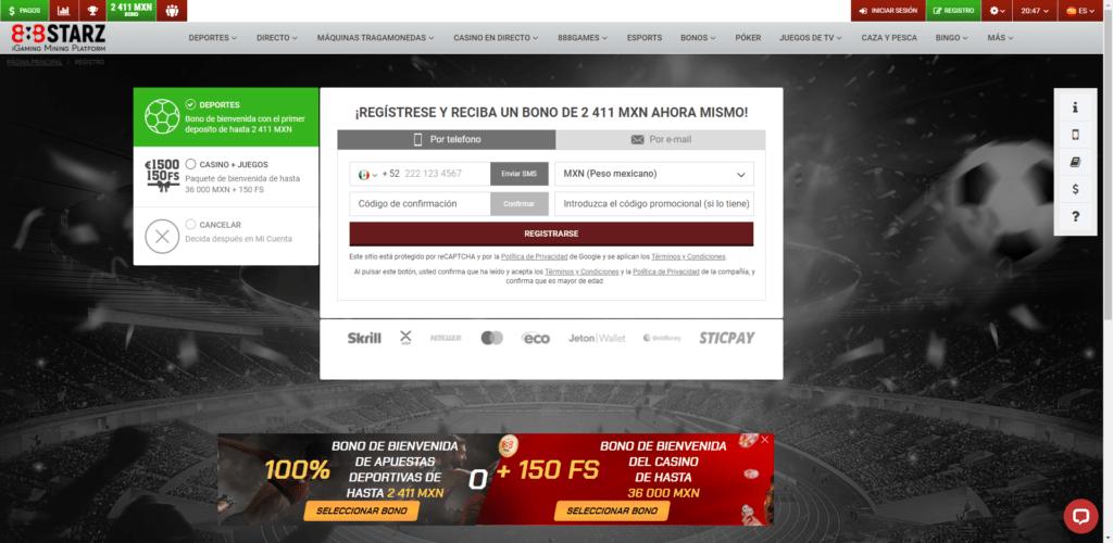 888starz bono bienvenida