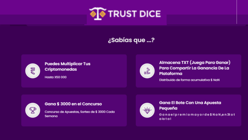 trustdice app