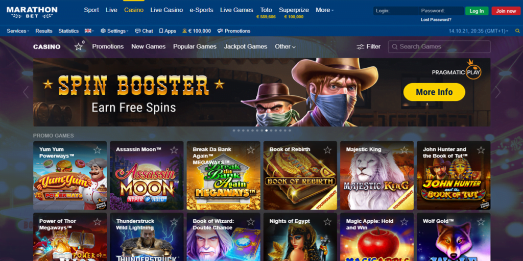 marathonbet nuevo bono casino