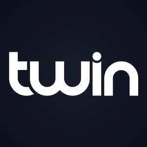 logotipo de twin casino